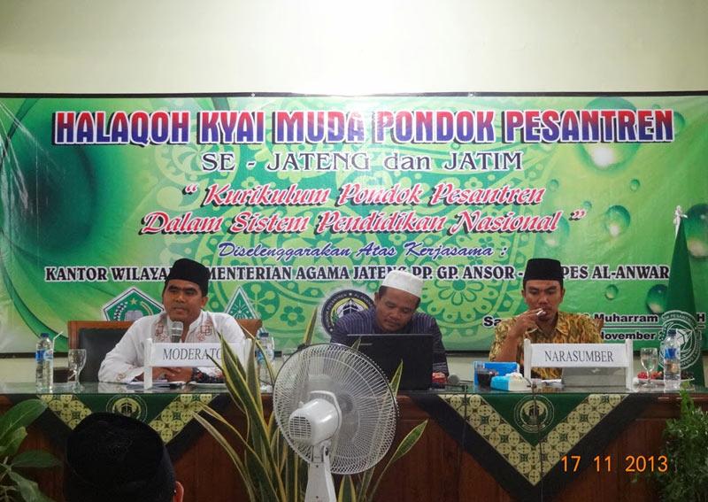 Workshop Kurikulum Standarisasi Pesantren di STAI al-Anwar