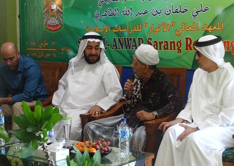 Kunjungan Dr. Taysir Ismail Dubai ke STAI al-Anwar