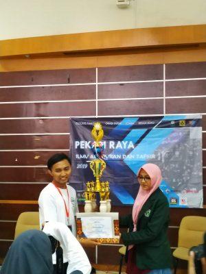 Juara 1 Esai Pekan Raya IAT UIN Suka