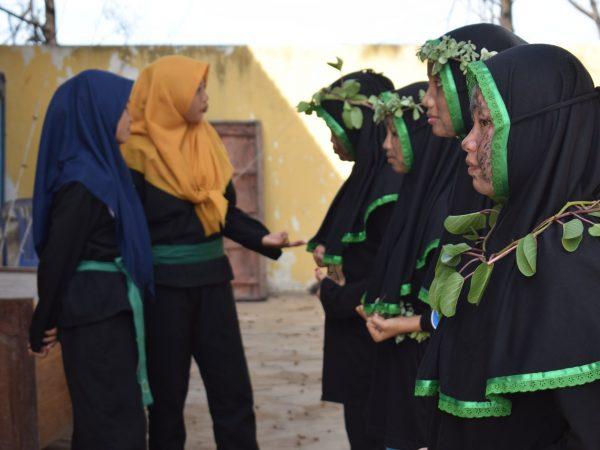 Pagar Nusa STAI Al-Anwar Putri Gelar Ujian Kenaikan Tingkat