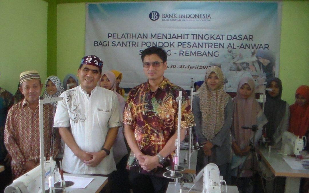 STAI Al-Anwar Adakan Pelatihan Wira Usaha Untuk Para Santri