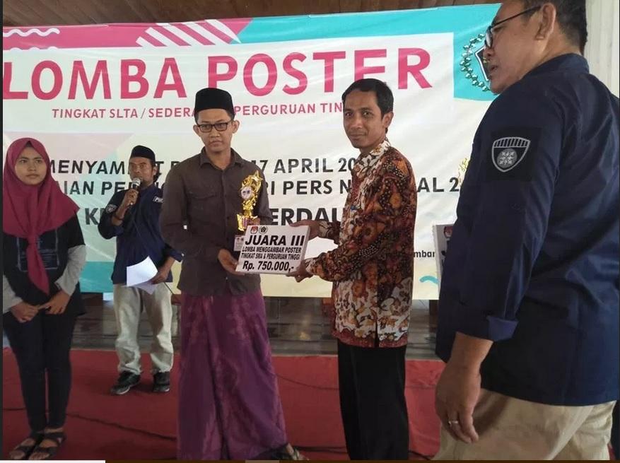 Juara III Lomba Poster KPU Rembang 2019