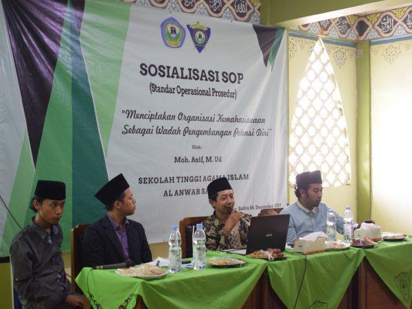 Sosialisasi SOP: Ormawa Diminta Tertib Administrasi