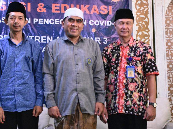 Sosialisasi Covid-19 di STAI Al-Anwar Sarang
